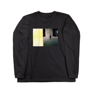 Skate longT Blk Long sleeve T-shirts