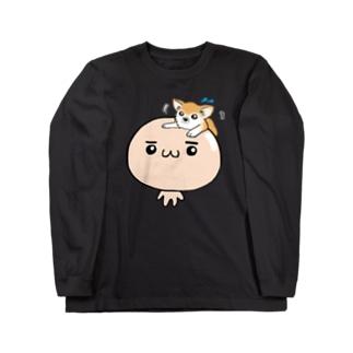 ハゲってつるつるする~_(U・ω・U_    )ノシ  Long sleeve T-shirts