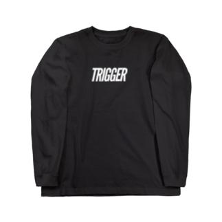 TRIGGER Long sleeve T-shirts