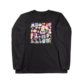 愛えとせとら Long sleeve T-shirts