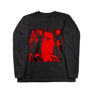 ブラックサンタクロース Long sleeve T-shirts