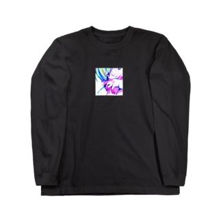 デジタル Long sleeve T-shirts