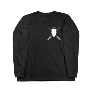 """Guardian"" ガーディアン_Black Long sleeve T-shirts"