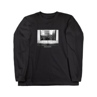 マイクスタンドのマイキー 《モノクロ》 Long sleeve T-shirts