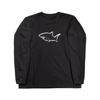 サメ Long sleeve T-shirts
