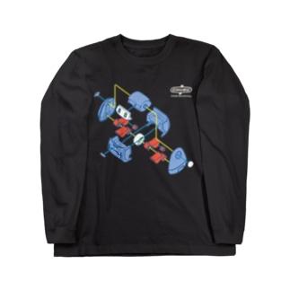 メカトロTP 「パージ」 Long sleeve T-shirts