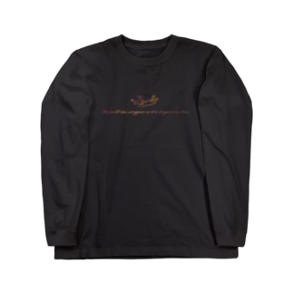 Angel message ~ The world... Long sleeve T-shirts