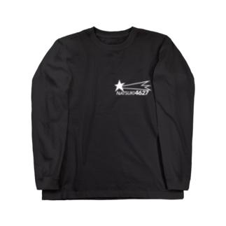 NATSUKI 4627 (白字) Long sleeve T-shirts