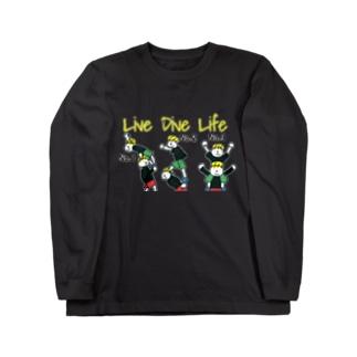 Live Dive Life ロンT Long sleeve T-shirts