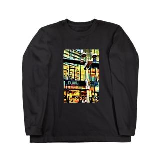 センター街 Long sleeve T-shirts