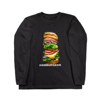hamburgers Long sleeve T-shirts