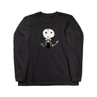 gugugustoreのぶぃぃんパーカー(白文字) Long sleeve T-shirts