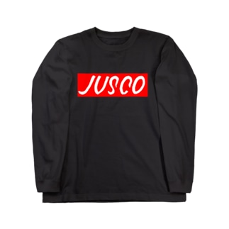 JUSCOサインペイント Long sleeve T-shirts