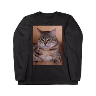nyan2(ニャンタ) Long sleeve T-shirts