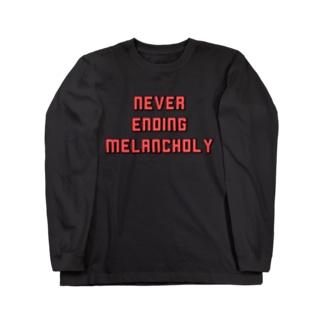 メランコリー Long sleeve T-shirts
