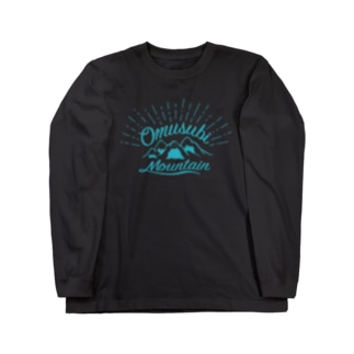 おむすびマウンテングリーン Long sleeve T-shirts