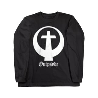 cross logo Long sleeve T-shirts