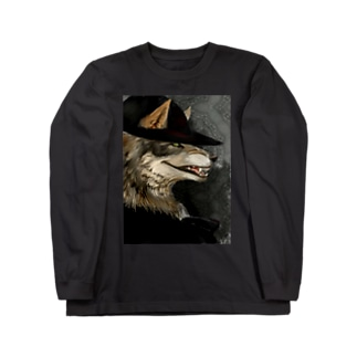 チョイワル狼 Long sleeve T-shirts