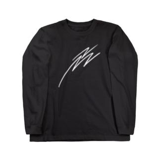ine ロゴロンT Long sleeve T-shirts