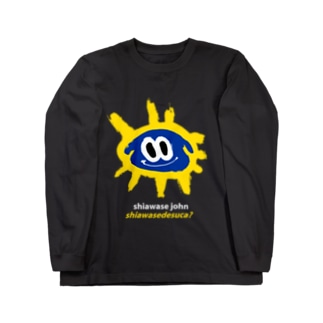 YASHINO CLUB SHOPのSHIAWASEDESUCA? Long sleeve T-shirts