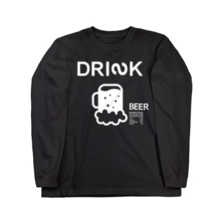 DRINKのMessages graphic 003B Long sleeve T-shirts