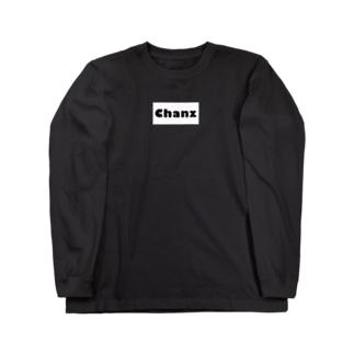 ロゴ Long sleeve T-shirts