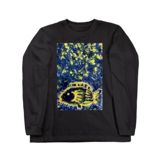 絶望魚 Long sleeve T-shirts