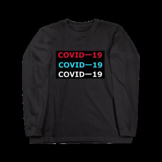 G-HERRING(鰊;鮭;公魚;Tenkara;SALMON)のCOVIDー19  Long sleeve T-shirts