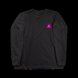 アメリカンベースのパワー デザイン Long sleeve T-shirts