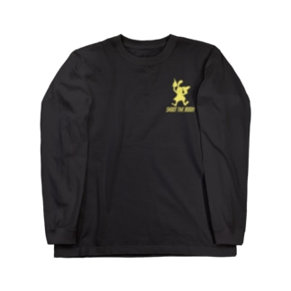 SHOOT THE MOON アメコミ風 ロンT Long sleeve T-shirts