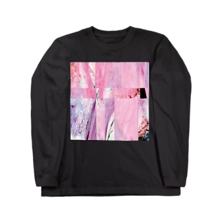 Ambient Purple Long sleeve T-shirts