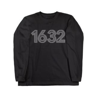 LONG SLEEVE LOGO-T(白抜き) Long sleeve T-shirts