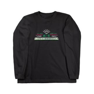 麻雀/緑一色ロンT Long sleeve T-shirts
