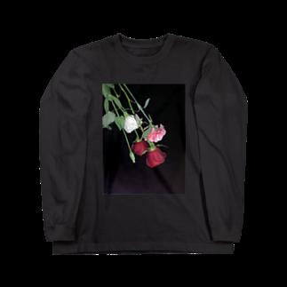 q__xwx__pのお花さん Long sleeve T-shirts
