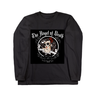 RedMoonのドクロガール Long sleeve T-shirts