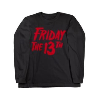 NIPPON DESIGNのFRIDAY THE 13TH Long sleeve T-shirts