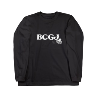BCG日本株ハンコ注射ROCK vs コロナ Long sleeve T-shirts