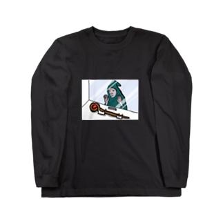 マジ貧しい魔術師 Long sleeve T-shirts