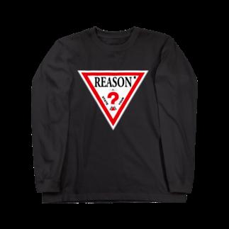 ツイッターインベストメントアパレル事業部のReason Long sleeve T-shirts