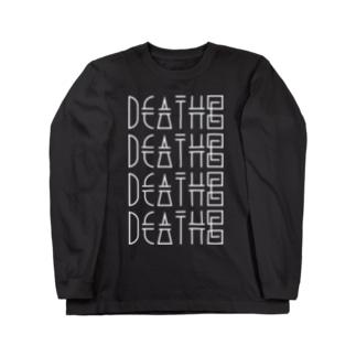 DEATH© / LONG SLEEVE tee Long sleeve T-shirts