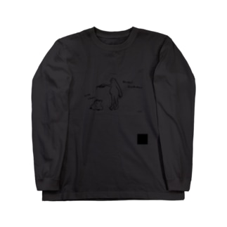 Yo! Men,のYo! Men, alcohol disinfection T Long sleeve T-shirts