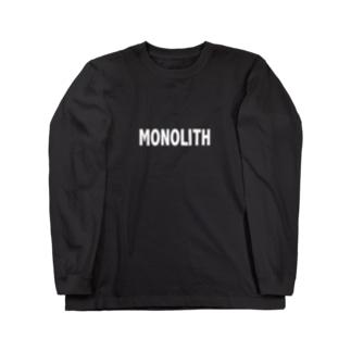 MONOLITH(モノリス)グッズ Long sleeve T-shirts