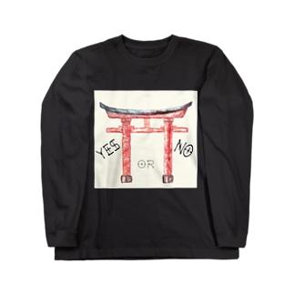通リャンセ Long sleeve T-shirts
