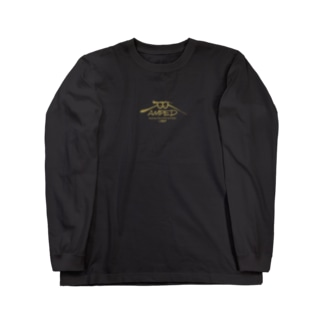 KGP_AMPED_ゴールド Long sleeve T-shirts