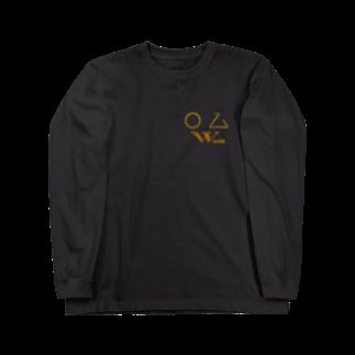ボルゾイのオズの世界 Long sleeve T-shirts
