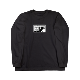 HElll - ヘル - のNo.007 両手で描いたネコ   ロンT Long sleeve T-shirts