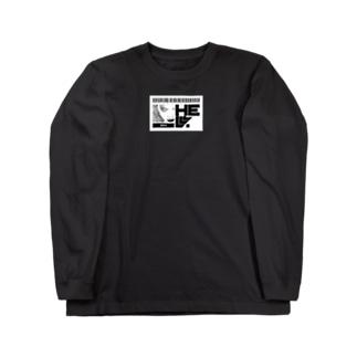No.004 目デ殺ス ロンT Long sleeve T-shirts