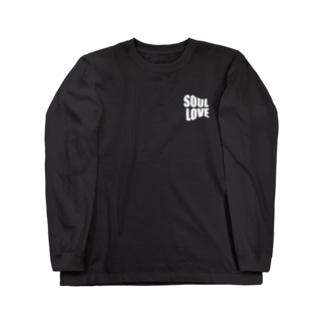 SOUL LOVE ロゴ third Long sleeve T-shirts