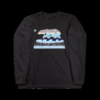 Hilo Diego Design Shopのアイスホッケー リパブリック Long sleeve T-shirts