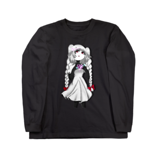 Merry Sheepのネオンハートのトゥィ Long sleeve T-shirts